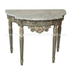 Stewart Console Table with Marble Top